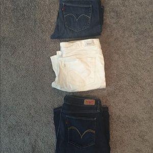 Levi's Jeans - 3 pair